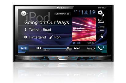 "Pioneer AVHX490BS Double-Din CD/DVD Receiver 7"" Screen, Bluetooth"