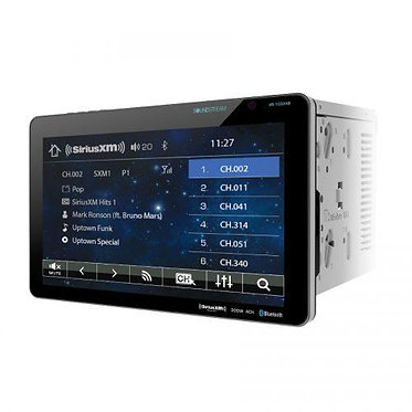 "SoundStream VR1032XB Double-Din DVD Player with 10.3"" Touchscreen"