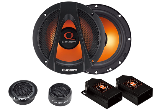 "6.5"" 2-Way Component Car Speaker System"