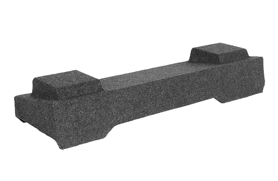 "Atrend A164-10CP Dual 10"" Carpeted Subwoofer Box for Light Duty 2003-2007 Chevy"