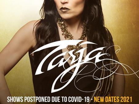 Tarja anuncia fechas en Brasil y Chile para el 2021