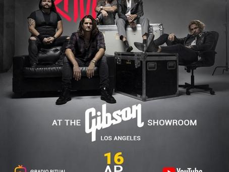Radio Ritual presenta el show realizado en Gibson Showroom de Los Angeles, CA, USA.