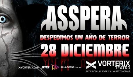 ASSPERA DESPIDE EL AÑO EN EL TEATRO VORTERIX