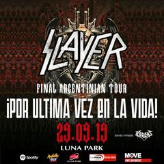 SLAYER Ultimo Show