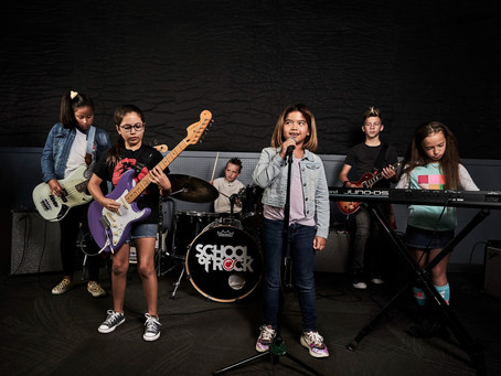 School of Rock: una iniciativa que deslumbra