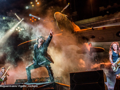 Éxito rotundo: más de 40000 personas disfrutaron del show con entradas agotadas de Iron Maiden