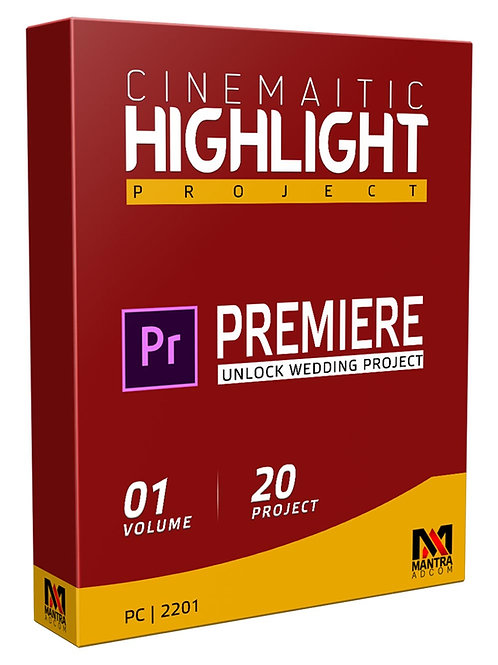 Cinematic Highlight Wedding Project   Premiere Pro - Vol 01