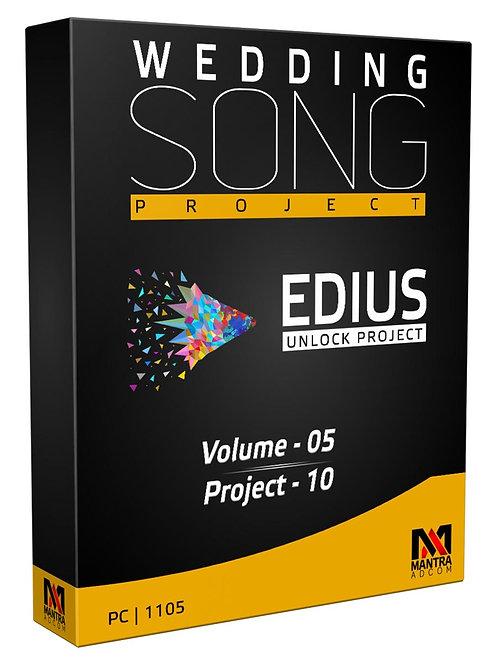 Wedding Song Project | Edius X, 9, 8, 7 | Vol-5