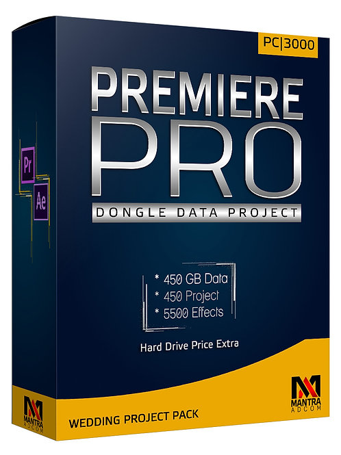 Premiere Pro Dongle Data without Hard Drive