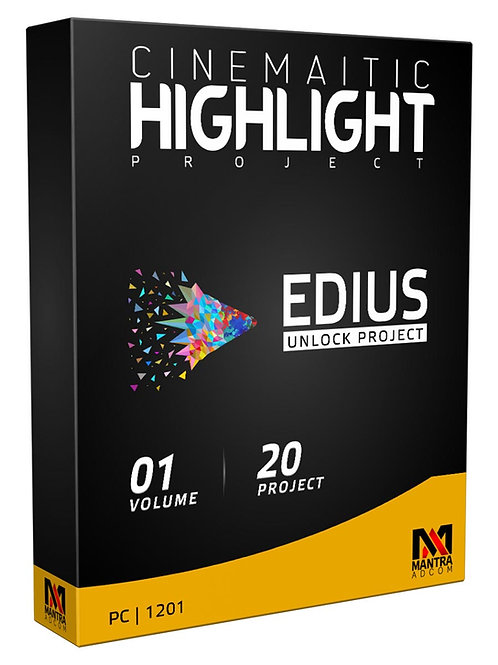 Wedding Highlight Cinematic Project | Edius X, 9, 8,7