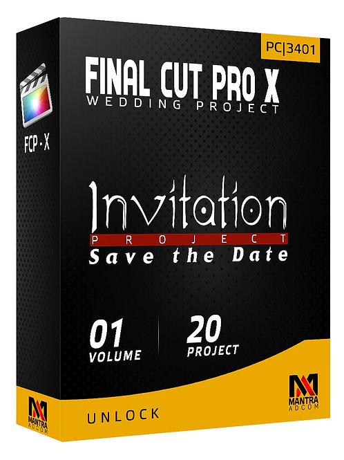 Invitation Project (Save the Date) | Final Cut Pro X - Vol 01