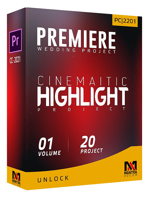 Cinematic Highlight Wedding Project | Premiere Pro - Vol 01