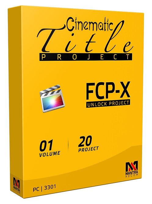 Cinematic Title Project | Final Cut Pro X - Vol 01