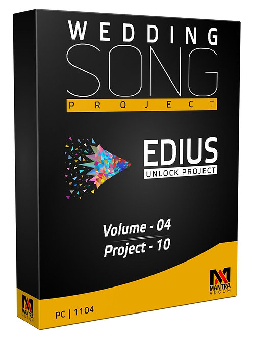 Wedding Song Project | Edius X, 9, 8, 7 | Vol-4