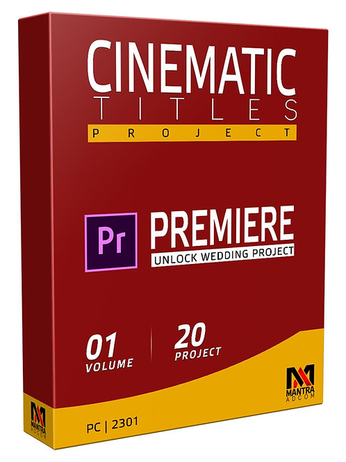 Cinematic Title Wedding Project | Premiere Pro - Vol 01
