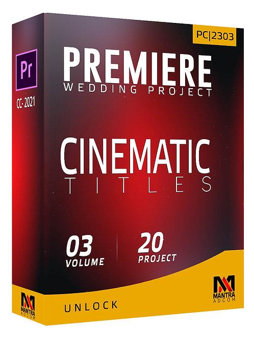 Cinematic Title Wedding Project | Premiere Pro - Vol 03