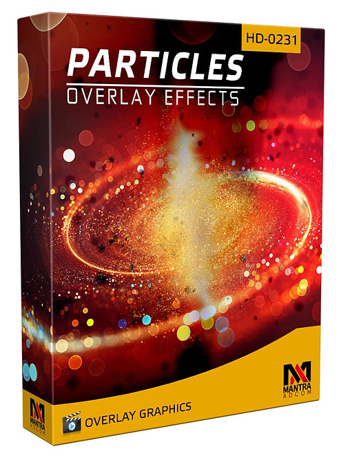 Particle Motion Element  | Overlays Video FX