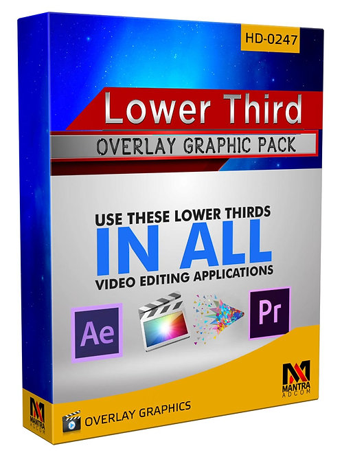 Lower Third  | Overlays Video FX