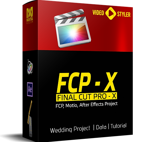 Final Cut Pro X - Wedding Data, Dongle Project