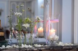 décoration florale mariage pastel
