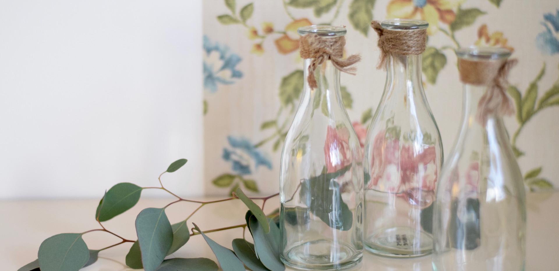 Détours Nature location vase bouteille