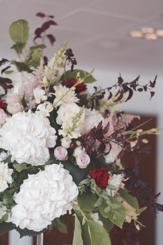 Mariage Détours Nature Rouge & Rose