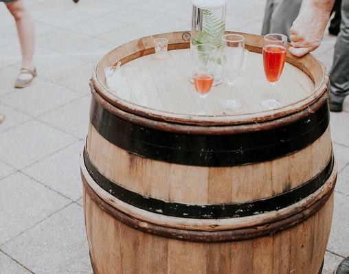 Tonneaux de vin location Détours Nature