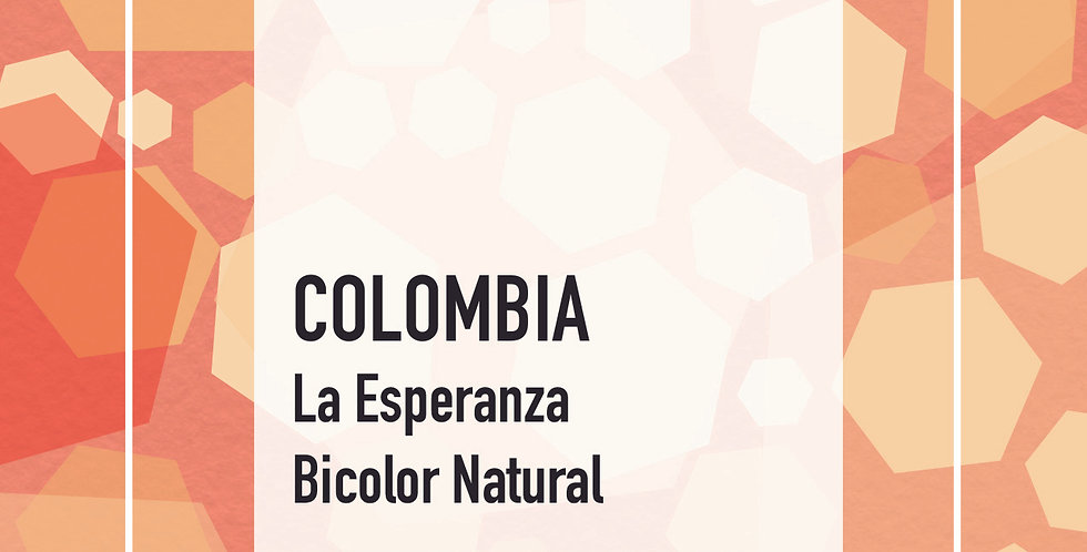 Colombia La Esperanza Bicolor Natural