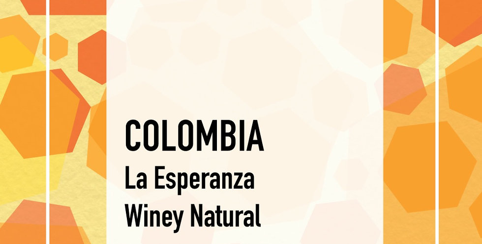 Colombia La Esperanza Winey Natural