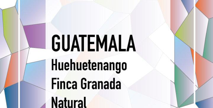 Guatemala Huehuetenango Finca Granada Natural