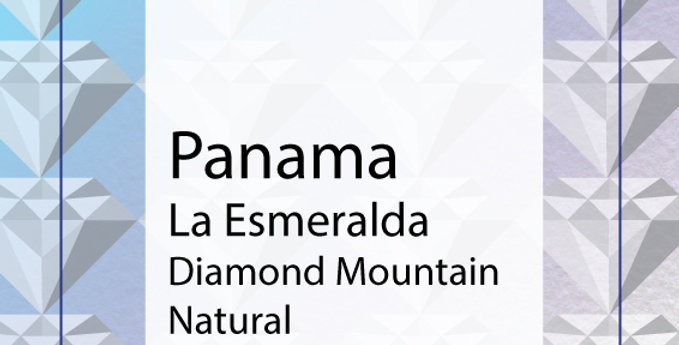 Panama Hacienda La Esmeralda Diamond Mountain Natural