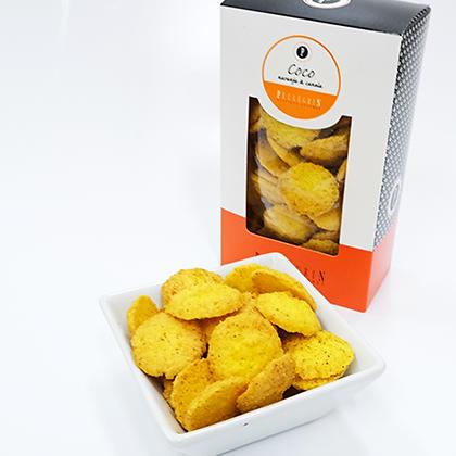 Galletitas de coco y naranja
