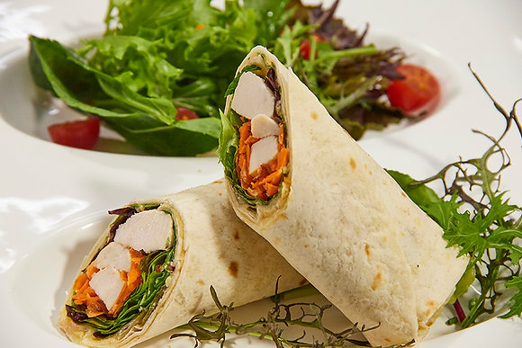 Wrap de Pollo al curry