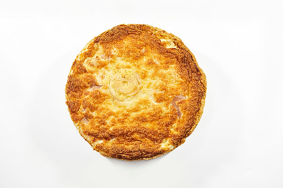 Tarta de lomito, queso y peras 6/8p