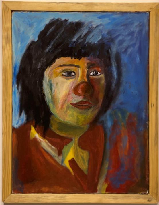 Original Acrylic Painting, Mohammed's Art