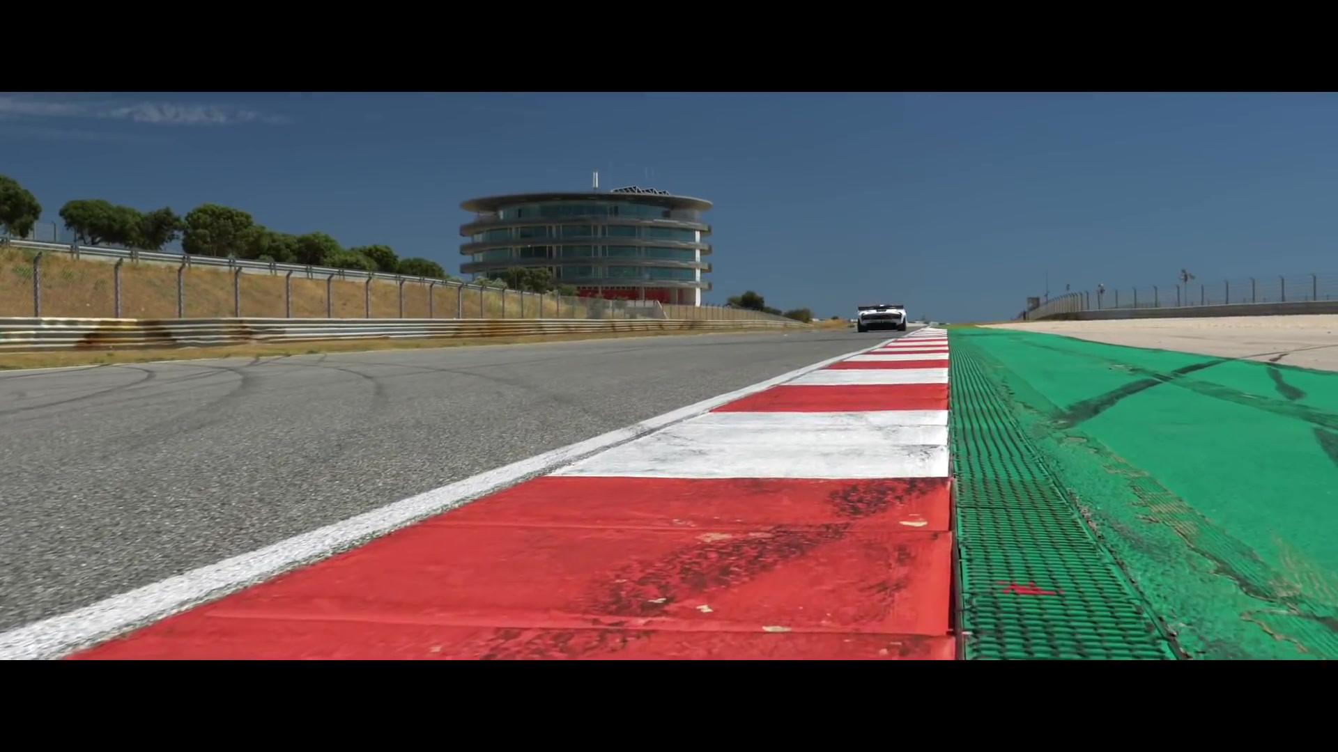 Brabham BT62 in action at Portimao