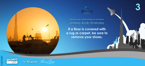 Taking off your shoes has been a tradition of Islamic culture for many years. It shows respect for their homes and businesses and of course, keeps the floor clean.