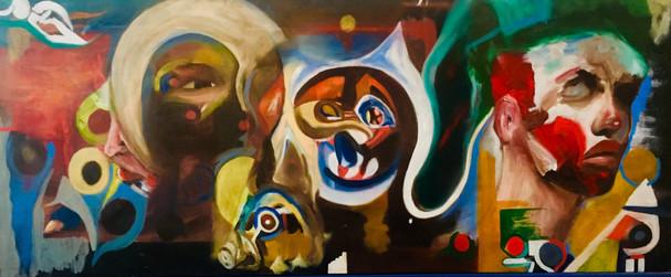 Original Oil painting, Mohammed's Art