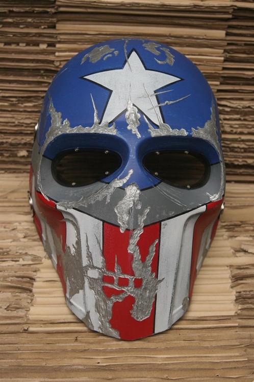 high impact helmet mask totally handmade russian production
