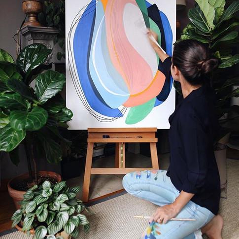 New #FLFfriday – new piece ✨ This painti