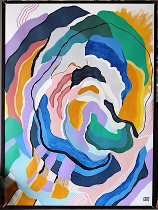 "22""x 30"" Original Painting: ""Keeping Memory Alive"""
