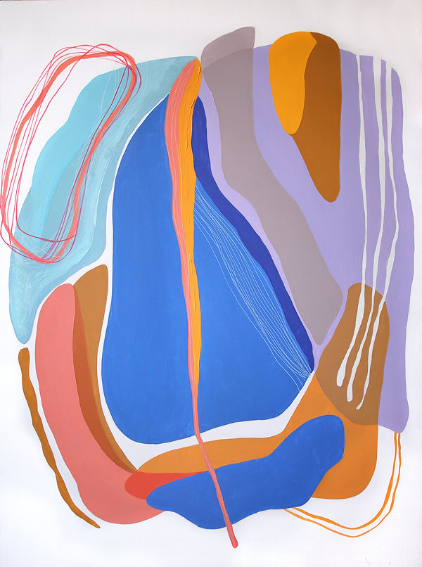 Alina Fassakhova, contemporary art, wall art, art for interior, colorful abstractions, abstract paintings, abstract art, colorful art, abstract portraits, inspired by Africa