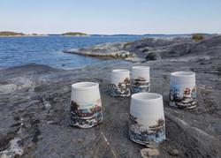 Cups ''Stockholm Archipelago''