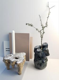 vase/ candle holder