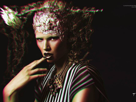 Tirade Magazine Editorial - Makeup Artist London
