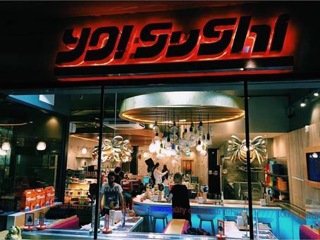 Yo Sushi Campaign, London