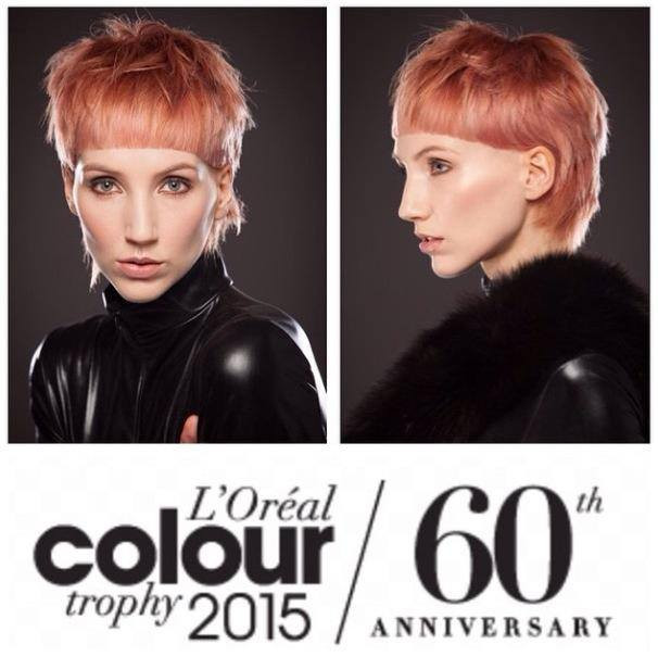 l'oreal colour trophy, lct 2015, l'oreal, hair, photoshoot, makeup artist,