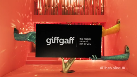 Giff Gaff x The Voice