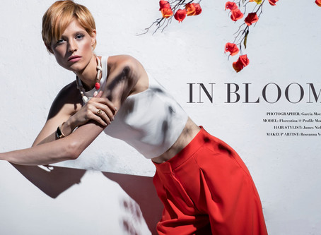 "Summer Fashion Editorial, ""In Bloom"""