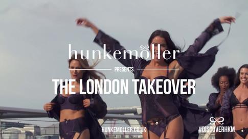 Hunkemoller - The London Takeover